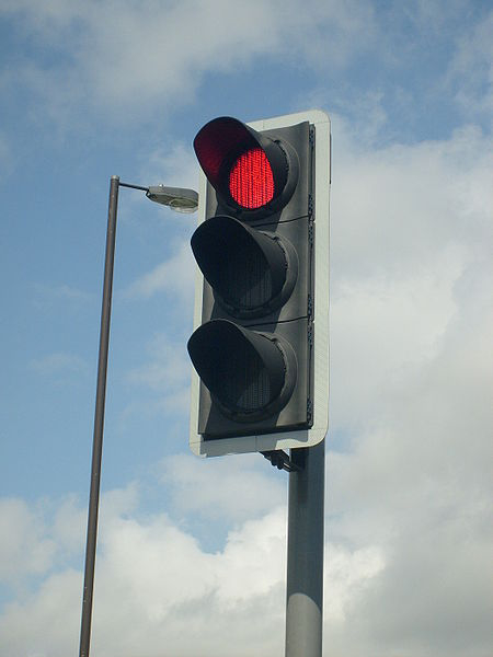 Running a red light