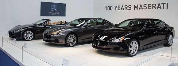 The money-making Maserati
