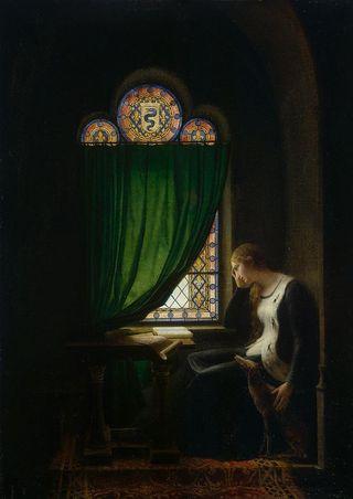800px-Fleury-François_Richard_-_Valentine_of_Milan_Mourning_her_Husband,_the_Duke_of_Orléans